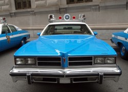 Restored classic New York City police cars tour regularly, this ...