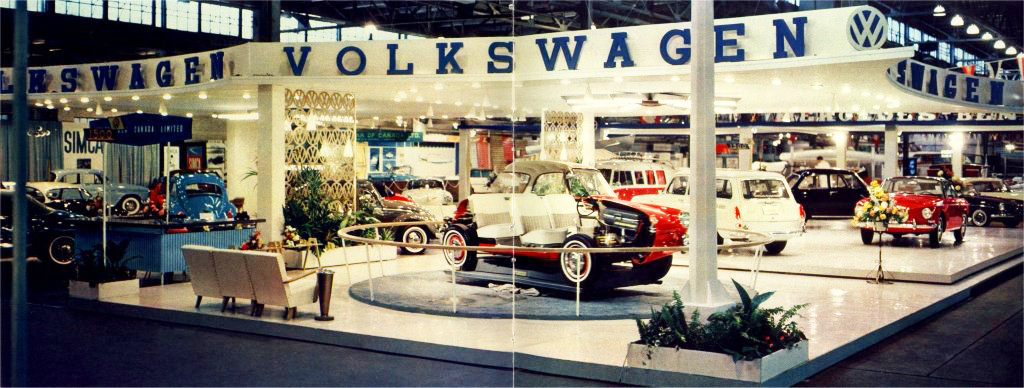 1962 Volkswagen auto show display | CLASSIC CARS TODAY ONLINE
