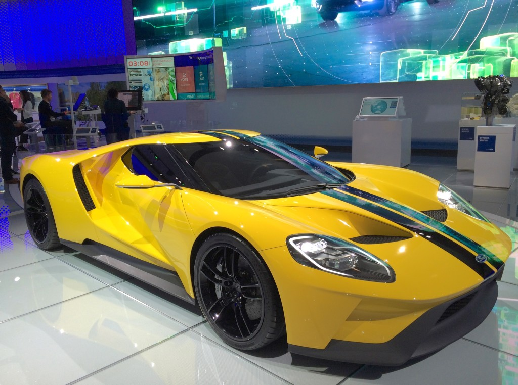 2017 Ford Gt At The 2016 New York Auto Show