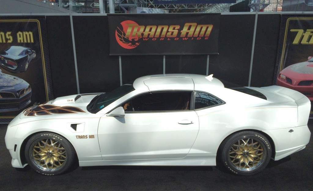 2016 Pontiac Trans Am Conversion At The New York Auto Show
